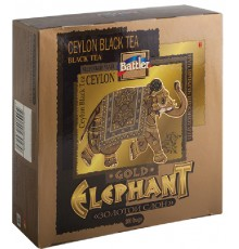 Gold Elephant 100 Tea Bags