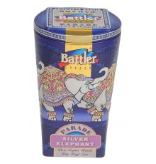 Silver Elephant 100 g Tin Caddy