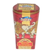 White Elephant 100 g Tin Caddy