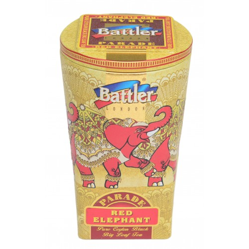 Red Elephant 100 g Tin Caddy