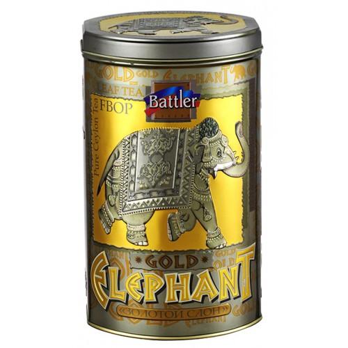Gold Elephant 150g Tin Caddy