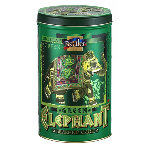 Green Elephant 100 g Tin Caddy