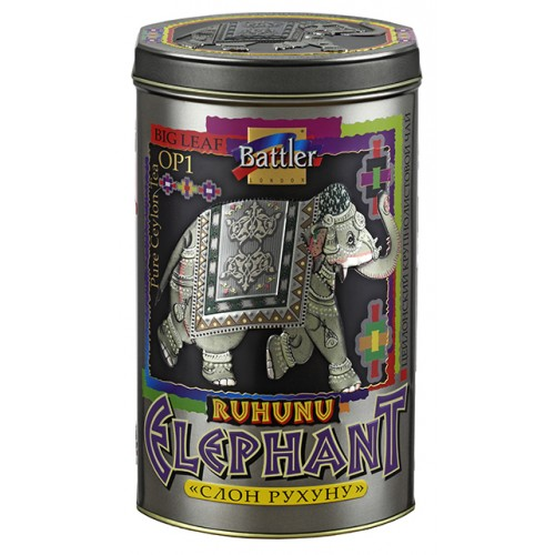 Ruhunu Elephant 200 g Tin Caddy